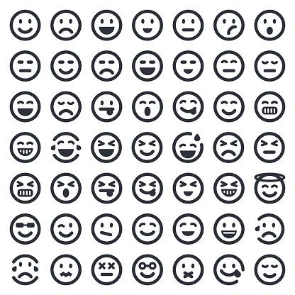 Emoji icons set 1   49ers Series