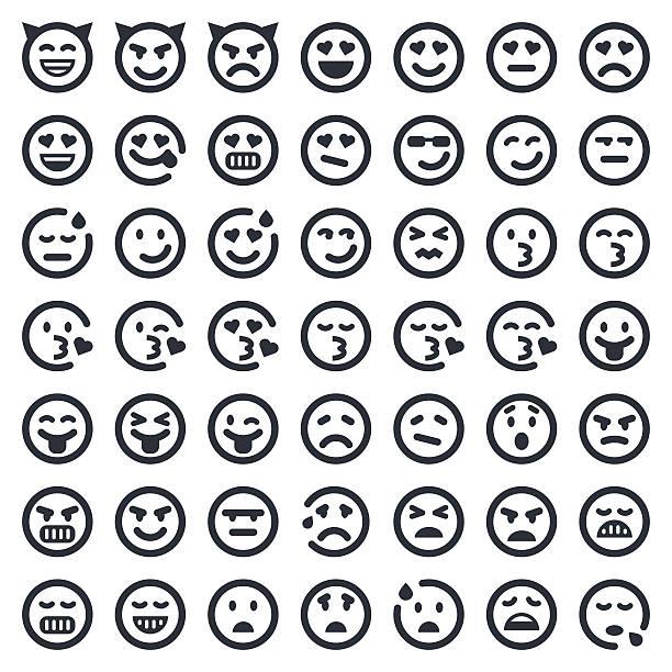 絵文字アイコンセットシリーズ 2 /49 ナーズ - 怒りの絵文字点のイラスト素材/クリップアート素材/マンガ素材/アイコン素材