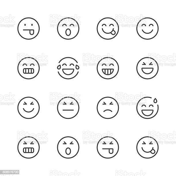 Emoji icons set 2 black line series vector id508376700?b=1&k=6&m=508376700&s=612x612&h=qf9hufvnpsr53x12fn4 qh9usv7vv2lxqertx3k3xco=