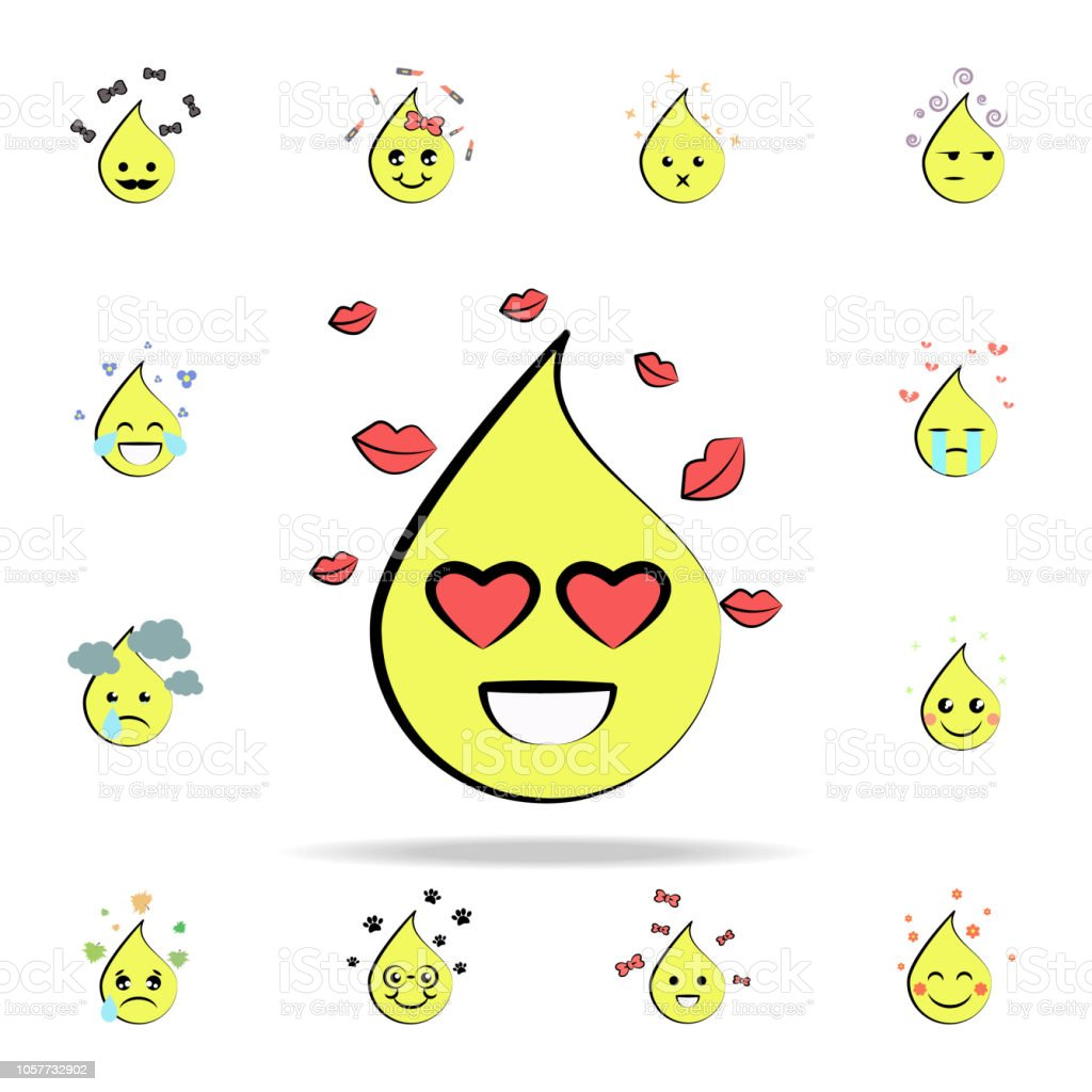 Emoji In Love Icon Emoji Icons Universal Set For Web And