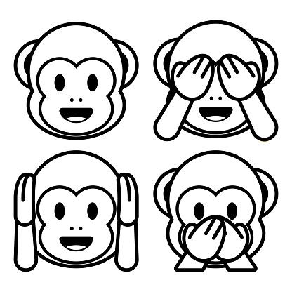 emoji zum ausmalen