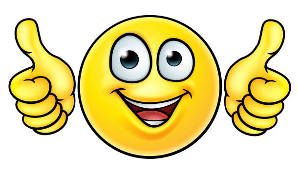 Emoji Thumbs Up icône - Illustration vectorielle