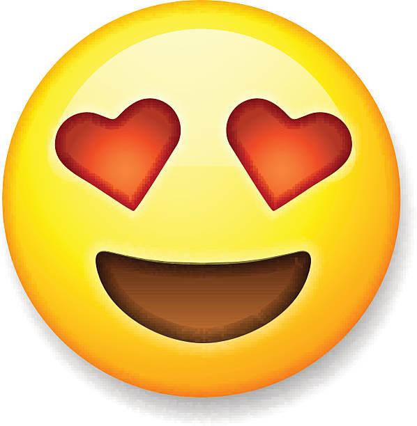 Top 60 Heart Emoji Clip Art, Vector Graphics and ...
