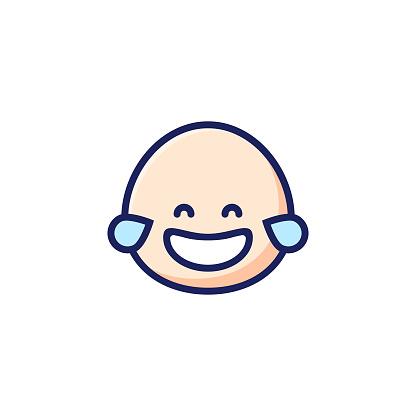 Emoticon cute design part of a series