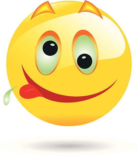 Best Drunk Smiley Face Cartoon Illustrations, Royalty-Free ...