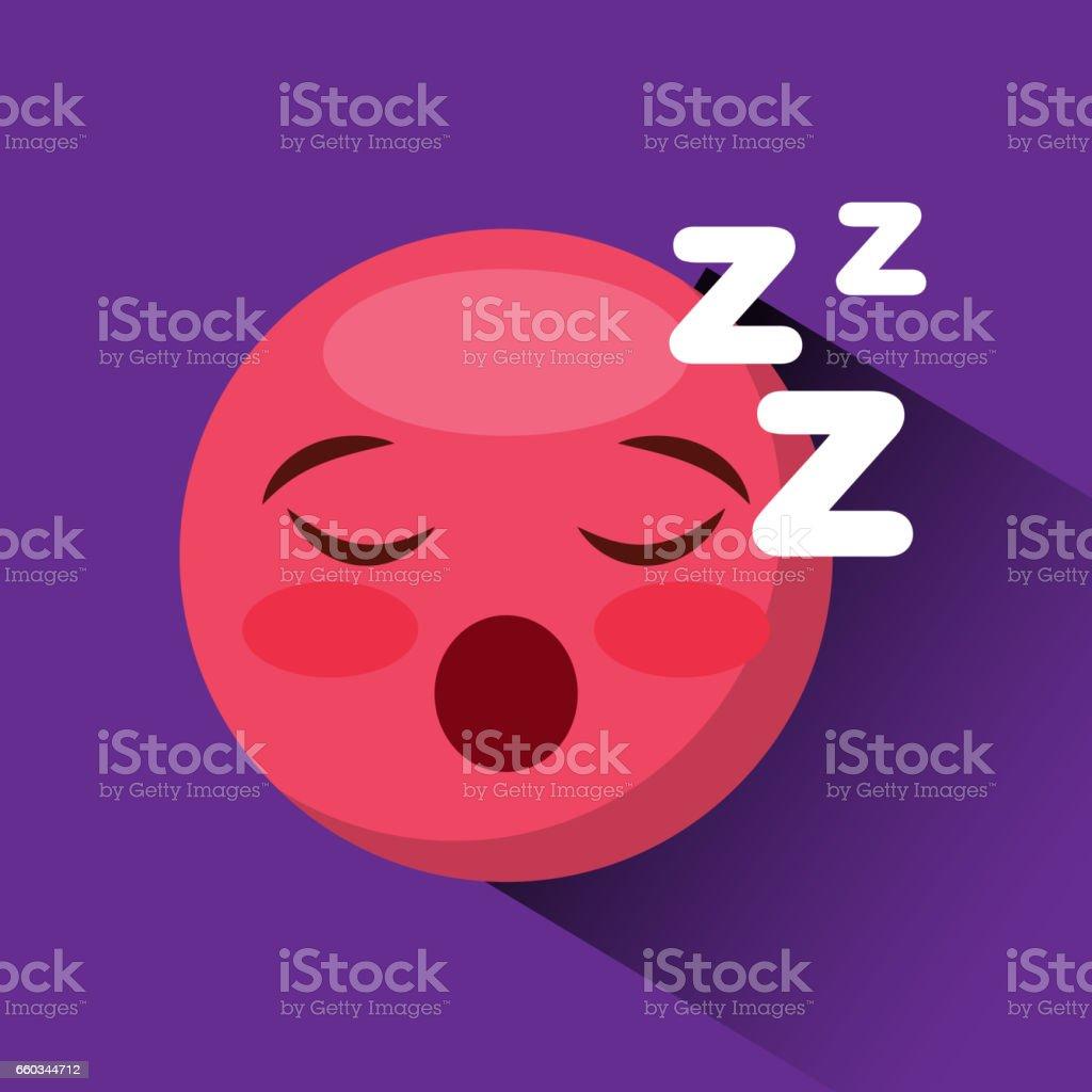 emoticon face icon vector art illustration