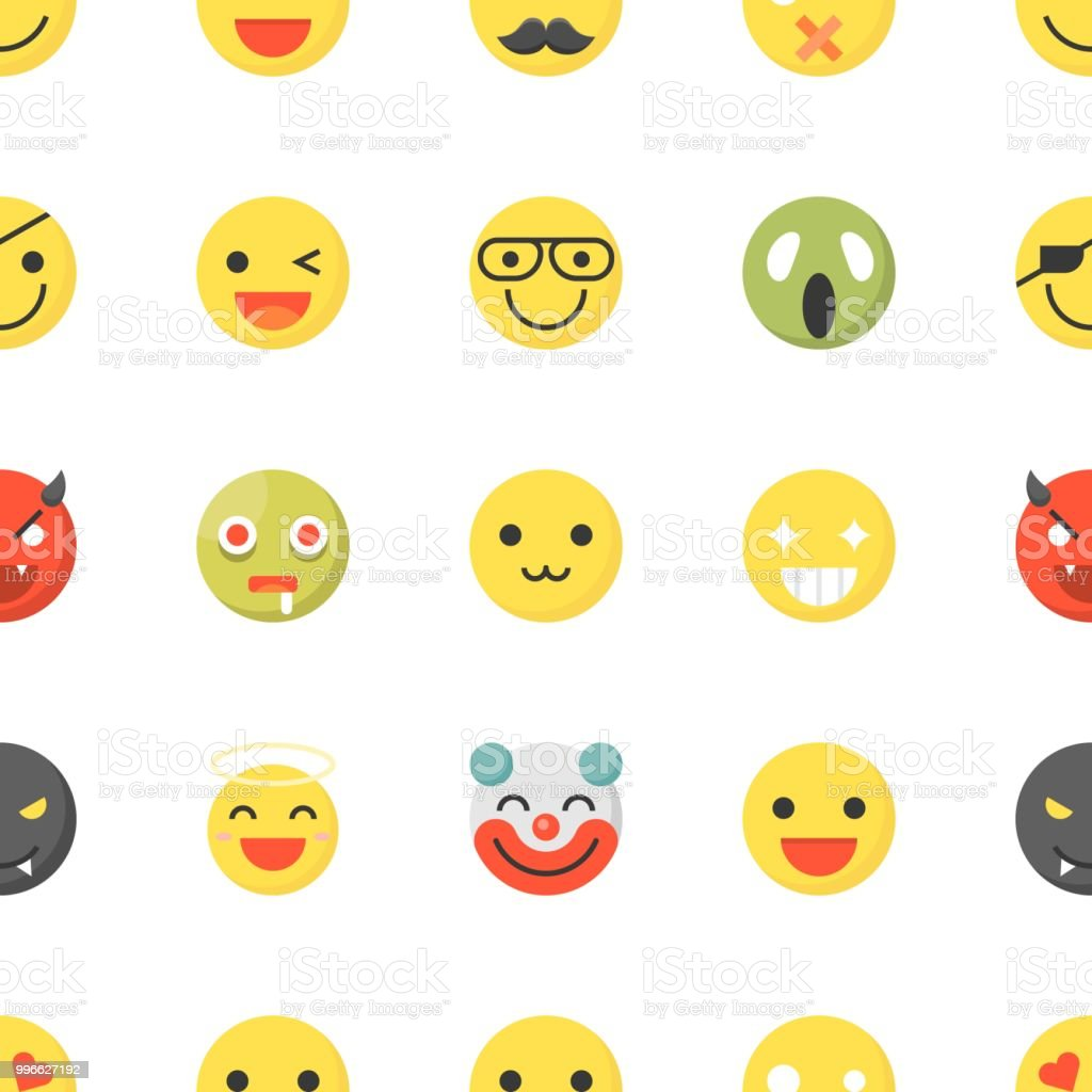 Emoticon seamless pattern flat design for use as wallpaper or emoticon seamless pattern flat design for use as wallpaper or background royalty free emoticon altavistaventures Image collections