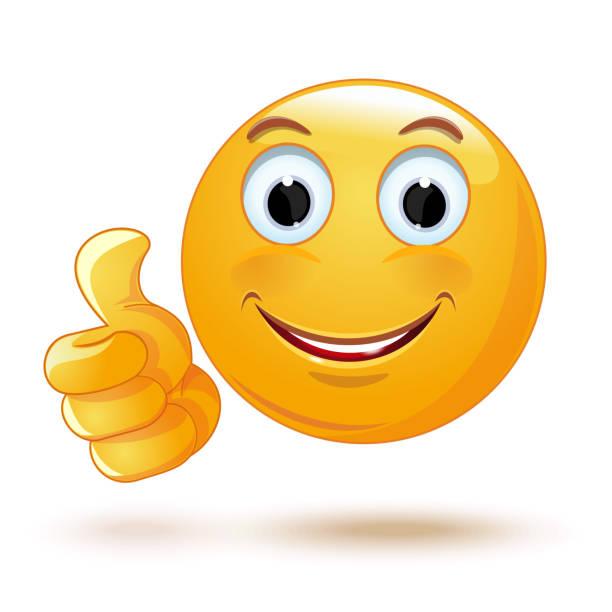 Top 60 Thumbs Up Emoji Clip Art, Vector Graphics and ...