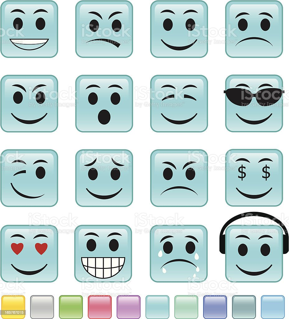Emoticon royalty-free emoticon stock vector art & more images of anger