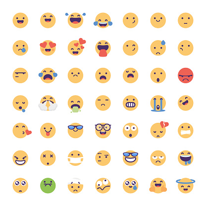 Emoticons collection