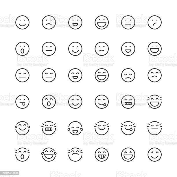 Emoticons set 1 thin line series vector id538579394?b=1&k=6&m=538579394&s=612x612&h=janejn d5pyurnzjakavwywazxkmevuz5cro6sa avu=