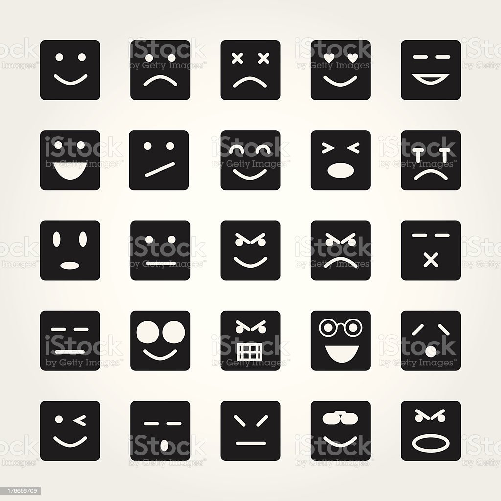 emotion face icons royalty-free emotion face icons stock vector art & more images of adult