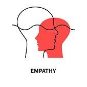 istock Emotional intelligence, coaching icon, teacher sign, coach symbol 1250007150