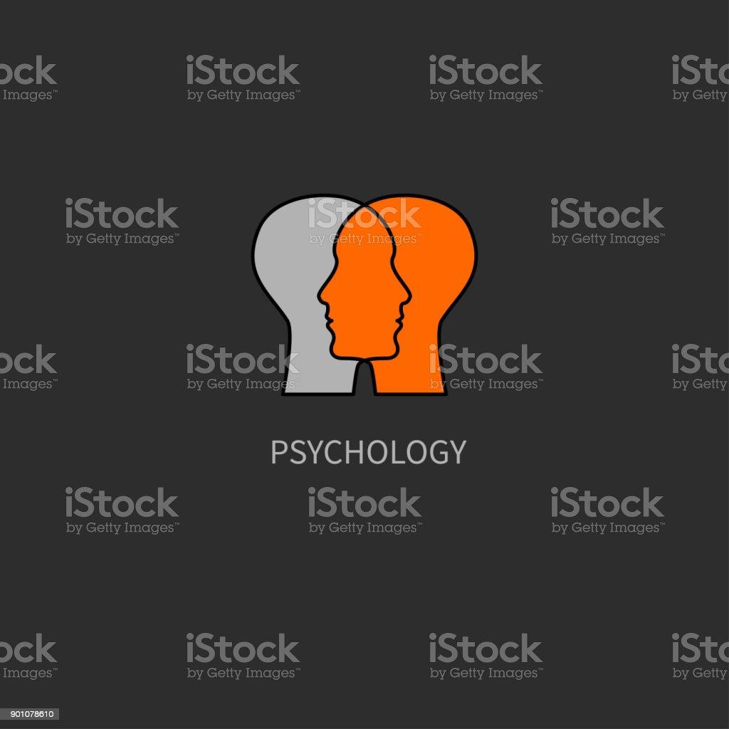 Inteligência emocional - ilustração de arte em vetor