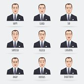 Emotions of a Businessman