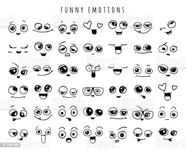 Emotions set of doodle faces smile vector id877387460?b=1&k=6&m=877387460&s=612x612&h=hfqw5itf4  hjffgn5goibgoejtx8ugmlg 7lan6uuu=