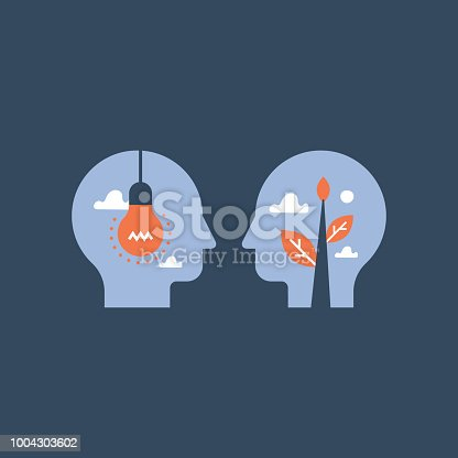 istock Empathy and communication, mentorship concept, negotiation and persuasion, common ground, emotional intelligence 1004303602