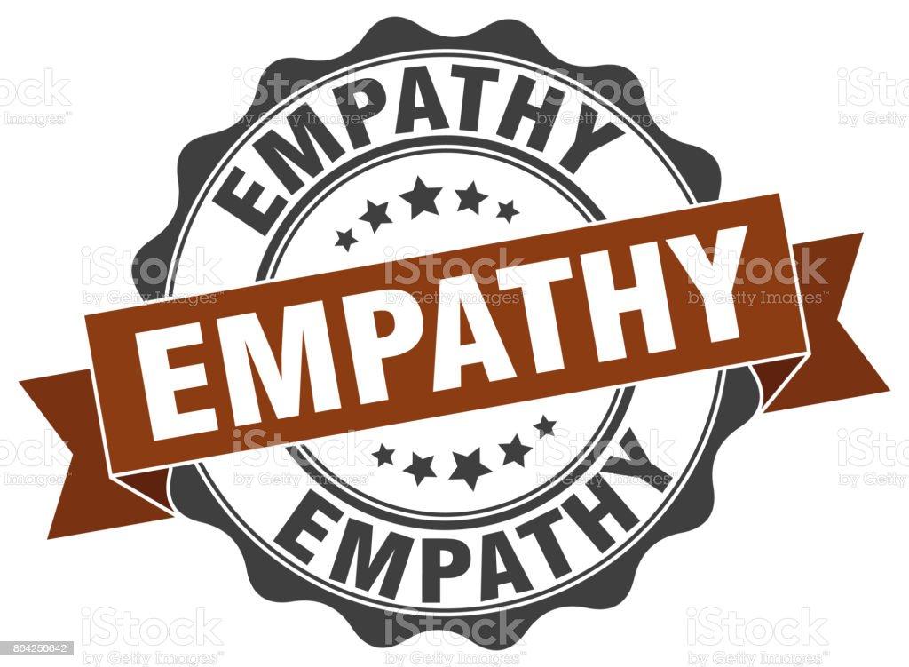 empathy stamp. sign. seal royalty-free empathy stamp sign seal stock vector art & more images of award ribbon