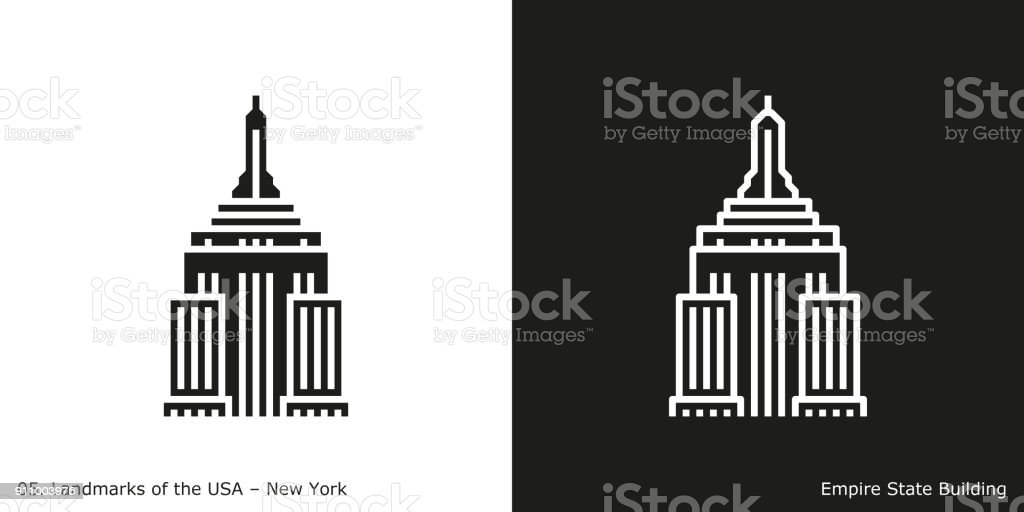 Empire State Building Icon - New York