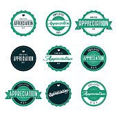 Employee Appreciation Day Icon Set
