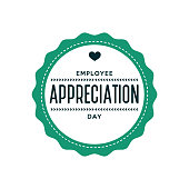 Employee Appreciation Day Label