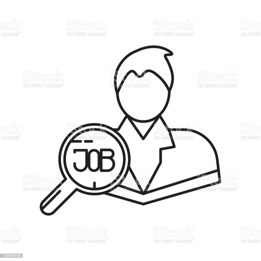 Employe Icone Vector Signe Et Le Symbole Isole Sur Fond Blanc Concept Logo Employe Vecteurs Libres De Droits Et Plus D Images Vectorielles De Adulte Istock