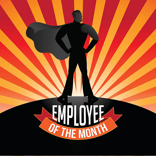 royalty free employee of the month clip art vector images