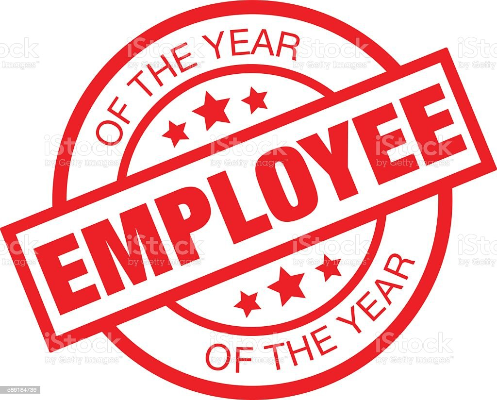 Employee Of The Year Stock Vector Art & More Images of ...