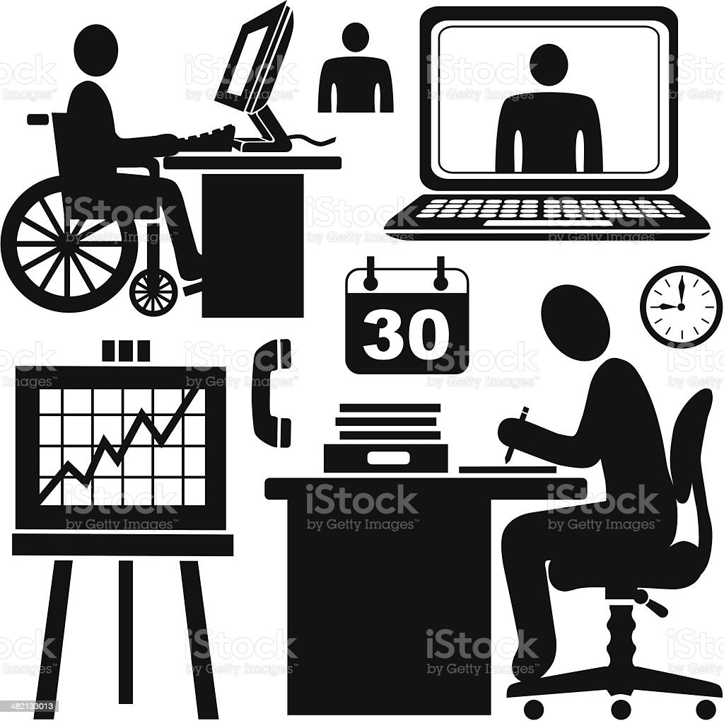 employees and customer service representatives royalty-free employees and customer service representatives stock vector art & more images of adult