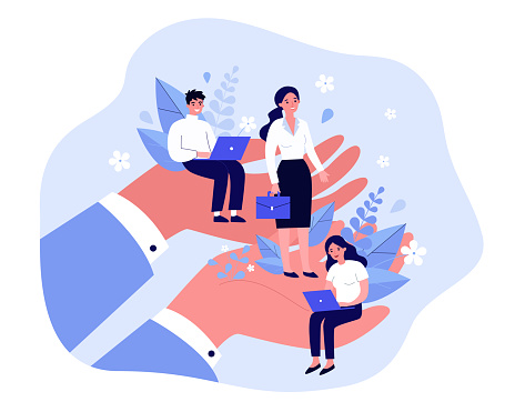 Employees care concept