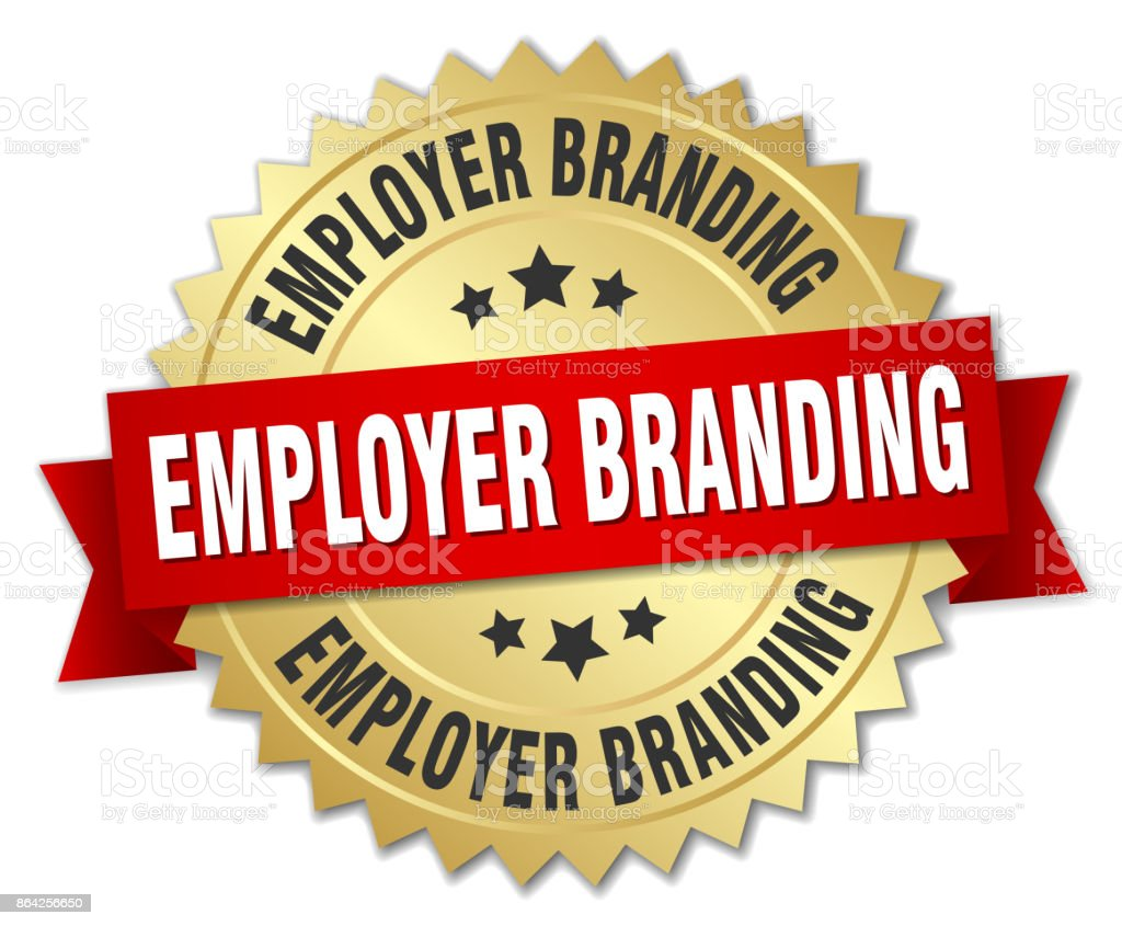 employer branding round isolated gold badge royalty-free employer branding round isolated gold badge stock vector art & more images of advertisement