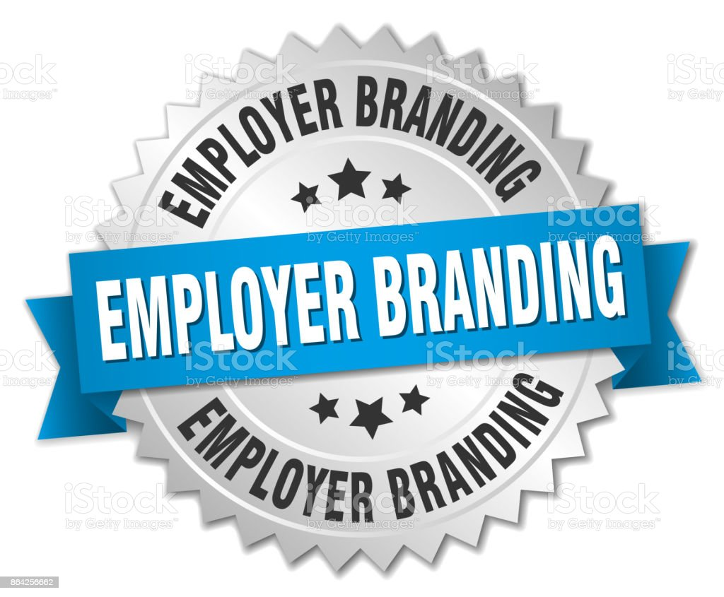 employer branding round isolated silver badge royalty-free employer branding round isolated silver badge stock vector art & more images of advertisement