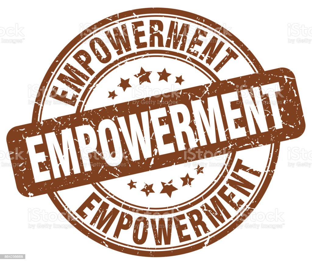 empowerment brown grunge stamp royalty-free empowerment brown grunge stamp stock vector art & more images of badge