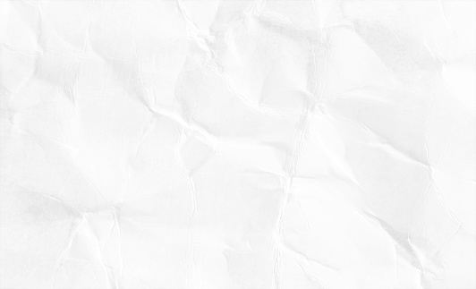 Empty blank golden white coloured grunge crumpled crushed paper horizontal vector backgrounds with folds and creases all over