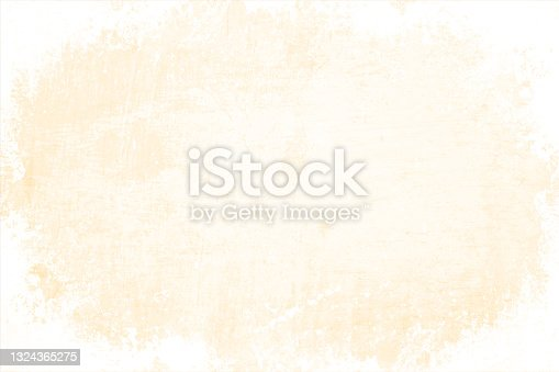 istock Empty blank light cream or beige and white coloured grunge textured blotched and smudged vector backgrounds 1324365275
