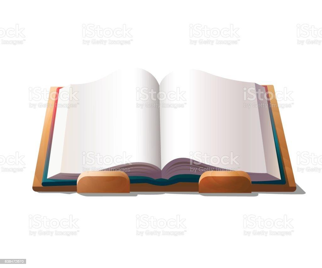 Livre Vide Sur Support Vecteurs Libres De Droits Et Plus D