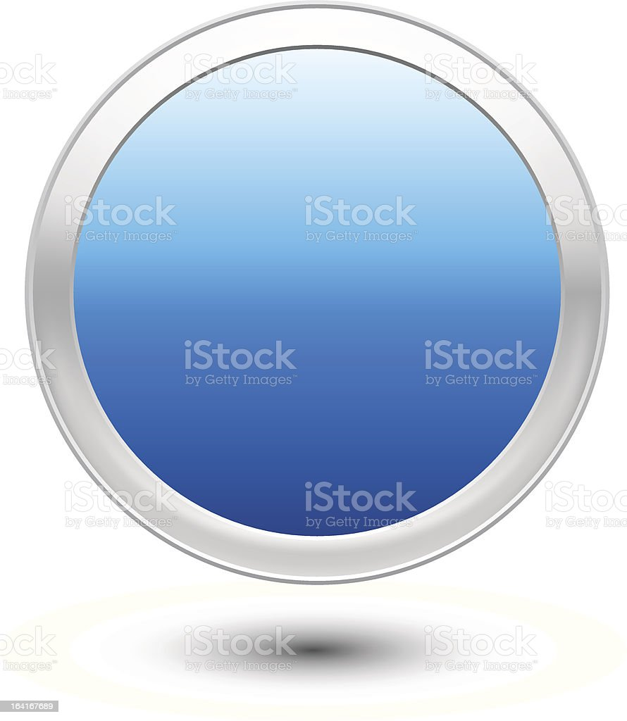 Empty Button royalty-free stock vector art