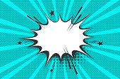 istock Empty comic text speech bubble Pop Art Style 958237978