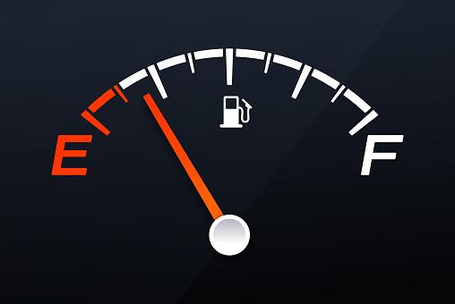 Empty Gas Tank Gauge