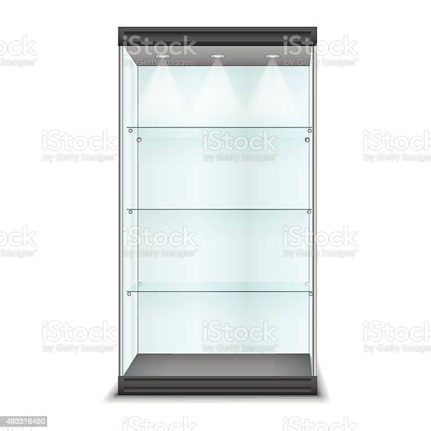 Empty glass cabinet with shelves vector vector id493316450?b=1&k=6&m=493316450&s=612x612&h=in1knyc5dsiskv rnvjbfrx68xlfogbtzjl2tyn74pq=