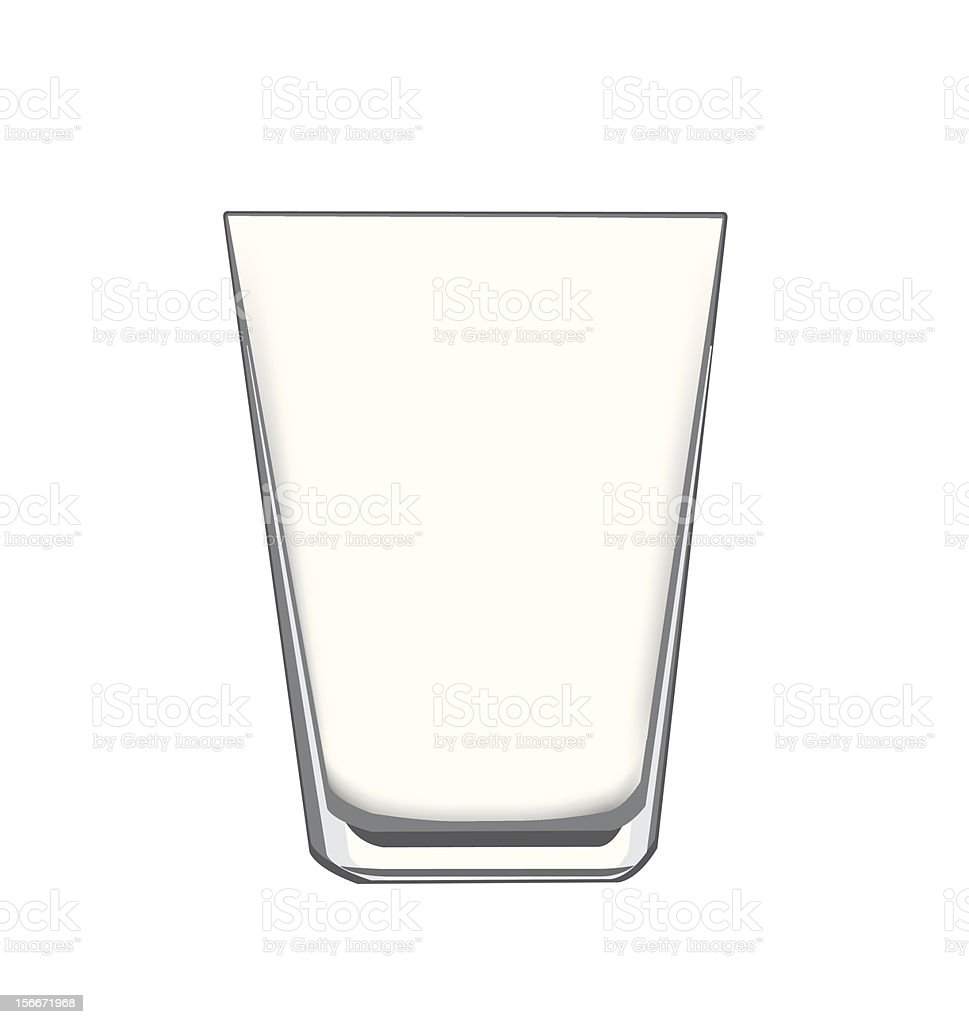 Empty Glass Stock Vector Art & More Images of Alcohol ...
