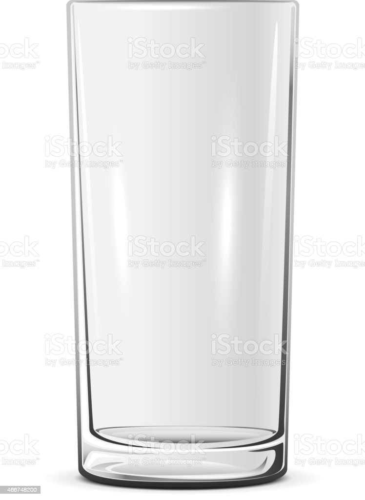Empty Glass Stock Vector Art & More Images of 2015 ...