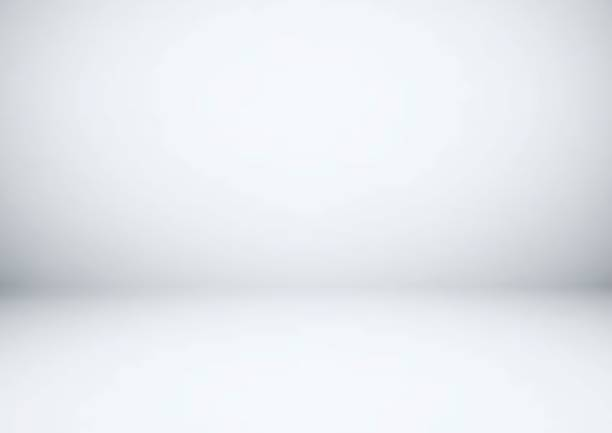 Empty gray studio room, used as background for display your products Empty gray studio room, used as background for display your products studio stock illustrations