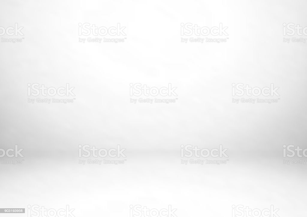 Empty gray studio room, used as background for display your products vector art illustration