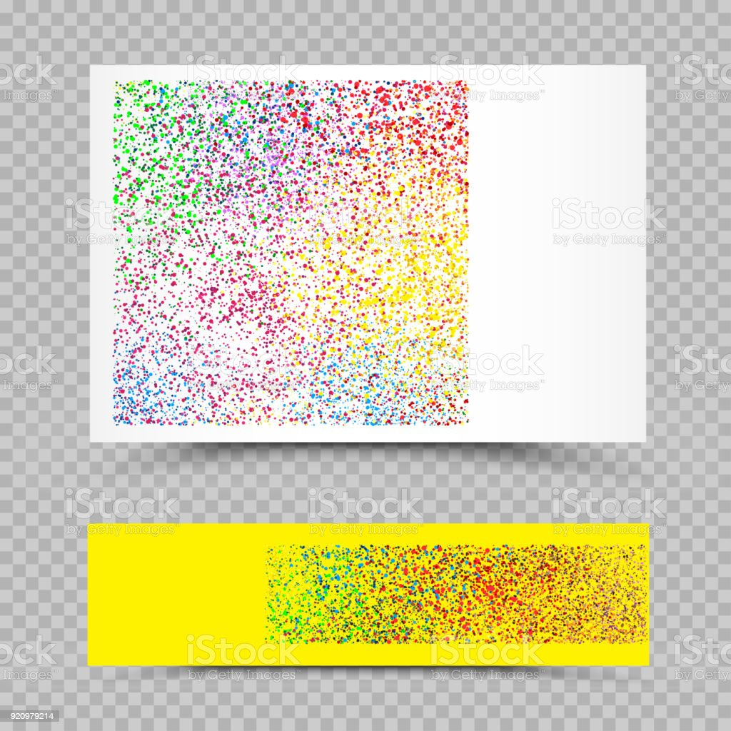 leere holi farben papier gesetzt vorlage lizenzfreies leere holi farben papier gesetzt vorlage stock vektor art - Bastelpapier Muster