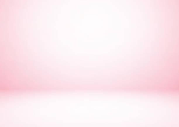 bildbanksillustrationer, clip art samt tecknat material och ikoner med tom rosa studiorum, används som bakgrund för visa dina produkter - rosa bakgrund