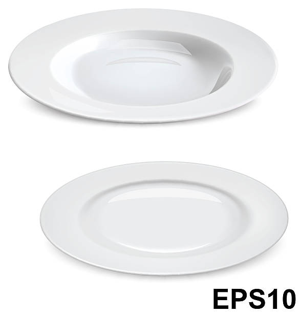 Royalty Free Empty Plate Clip Art, Vector Images ...