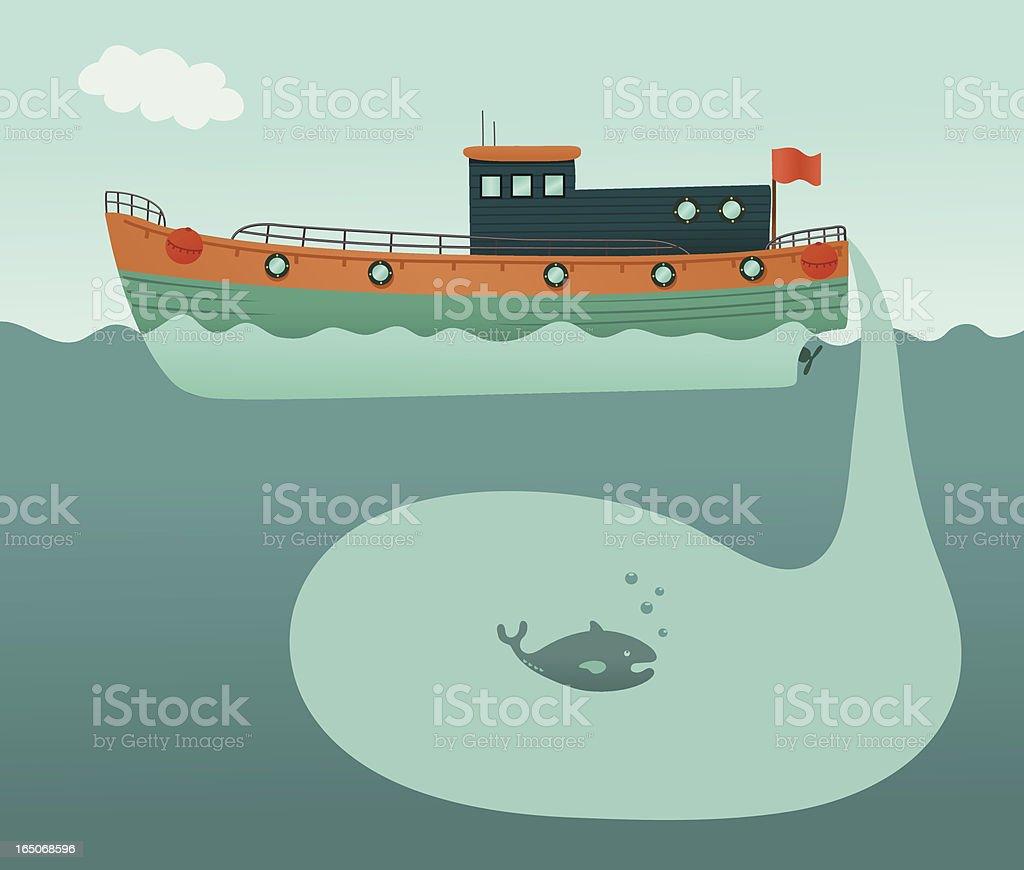Empty Seas vector art illustration
