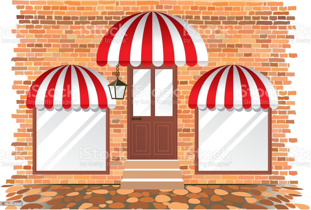 empty showcase royalty-free empty showcase stock vector art & more images of awning