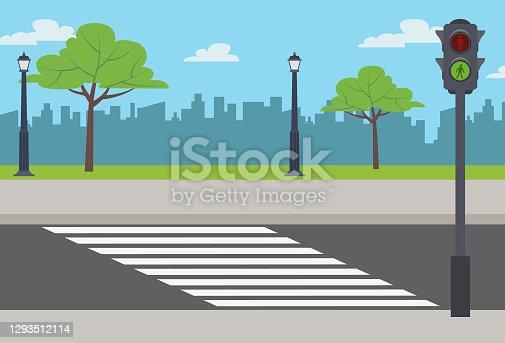 istock Empty street 1293512114